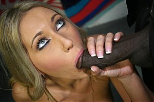 Sweet Alysha Rylee lets a rally of blacks pound her pussy on brobang blog